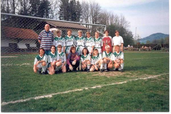Mannschaftsfoto-Damenmannschaft